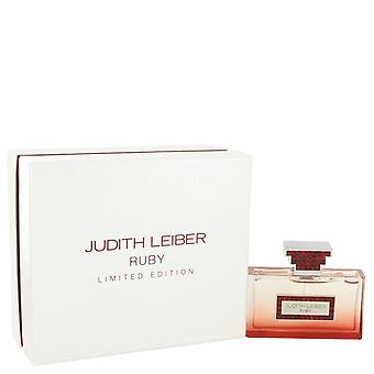 Judith Leiber Ruby Eau De Parfum Spray (Limited Edition) par Judith Leiber 2.5 oz Eau De Parfum Spray
