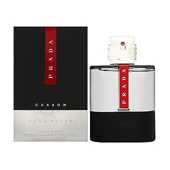 Prada Luna Rossa Carbon Eau De Toilette Spray 100Ml, Multi, 3.4 Ounce