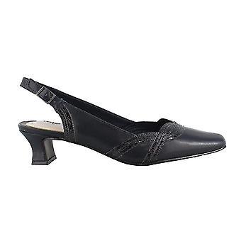 Gemakkelijk straat Womens prachtige gesloten teen formele slingback sandalen