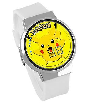 Водонепроницаемые светящиеся светодиодные цифровые сенсорные детские часы - Pokemon #37