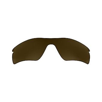 Polarized Replacement Lenses for Oakley Radar Pitch Sunglass Anti-Scratch Brown