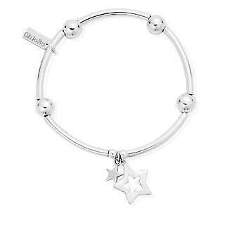 ChloBo Noodle Ball Double Star Bracelet SBNB806812