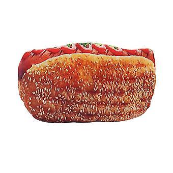 3d Plush Pillow Cushion, Soft Stuffed Backrest