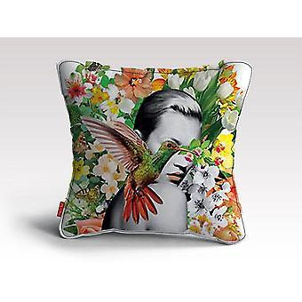 Claire flores almofada/travesseiro
