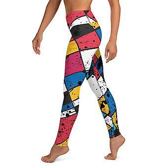 ملونة يوغا Leggings