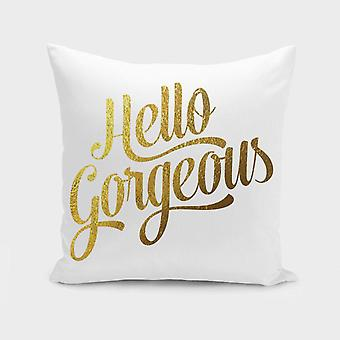 Hello Gorgeous Cushion/pillow Cover