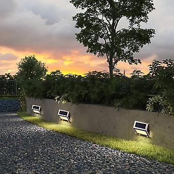 Tuin Trap Pad Licht Led Solar Step Lights Night Lighting Solar Powered Wall