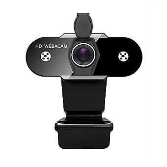 Hd 1080p Webbkamera 2k datordator webbkamera med mikrofon för livesändning