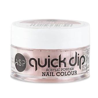 ASP Quick Dip Acrylic Dipping Powder Nail Colour - Pink Sands