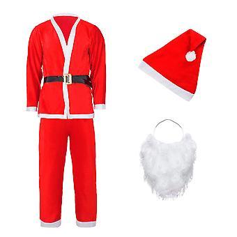 Costume de Santa - costume de Père Noël de déguisement - enfants