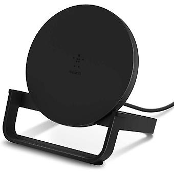 Belkin Boost Up Wireless Charging Stand 10 W, Fast Wireless Charger for iPhone 11, 11 Pro/Pro Max