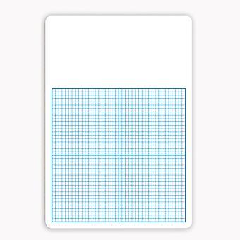 """1/4"""" Graph Dry Erase Board, 11"""" X 16"""""""