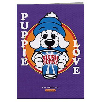 Slush Puppie Love Cartoon Greeting Card