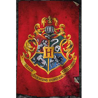 Harry Potter Tylypahkan lippu Maxi Juliste