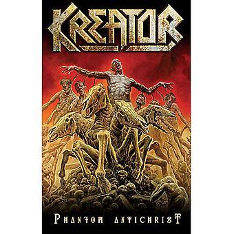 Kreator Poster Phantom Antichrist Band Logo new Official 70cm x 106cm Textile