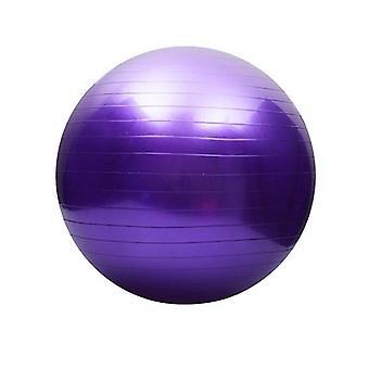Yoga ball with air pump