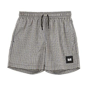 Weekend Offender 2108 Varadero Check Print Swim Shorts