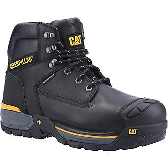 CAT Workwear Mens Excavator Lace Up Leather Safety Boots