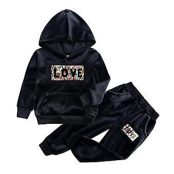 2020 Autumn Kids Clothing Sets Sport Suit Cotton Letter Clothes