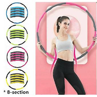 Weighted Hula Hoop Abdominal Exerciser Fitness Core Strength Hoola