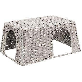Trixie Casa Conejos Gris (Kleine Tiere , Ausstattung , Zellen & Höhlen)