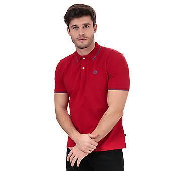 Män's Henri Lloyd Polo Shirt i rött