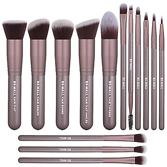 BS02 - BS-MALL 14 stk. eksklusive makeup-/makeuppensler af bedste kvalitet
