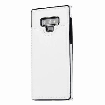 Shockproof multifunction leather case for Samsung Galaxy Note 8 - Blanc