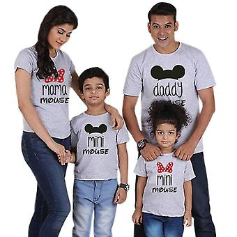 Familie T-shirt, Mini Mouse Daddy Mami Haine