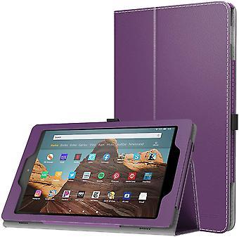 FengChun Hlle fr Das Neue Amazon Fire HD 10 Tablet (9. Gen 2019 & 7. Gen 2017 Modell), Kunstleder