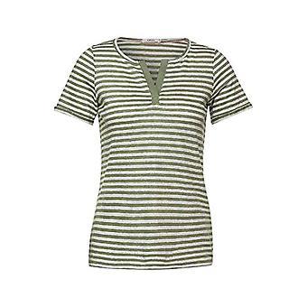 Cecil 315898 T-Shirt, Green Herbs, M Woman