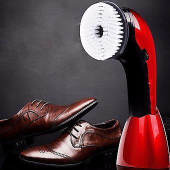 Eu Plug Portable, Handheld Automatic Electric Shoe Brush Shiner, Polisher Power