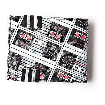 Nintendo - Nes Controllers All-Over Print Men's Bi-Fold Wallet - Multi-Colour