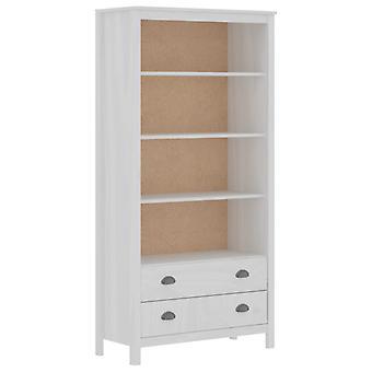 Bücherregal Hill Range 85X37X170,5 cm Solid Pine White