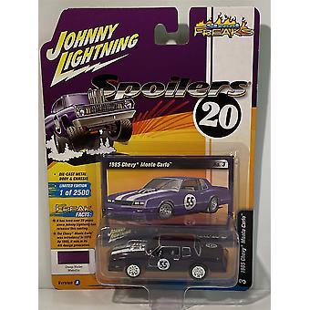 1985 Chevy Monte Carlo Violet Metallic Johnny Lightning 1:64 JLSP018A