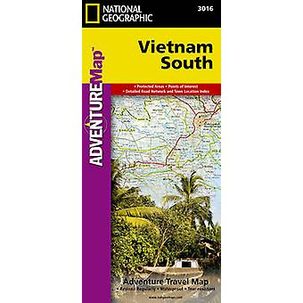 Vietnam South  Travel Maps International Adventure Map by National Geographic Maps