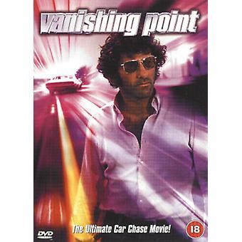 Vanishing Point DVD (2002) Barry Newman Sarafian (DIR) cert 18 Region 2