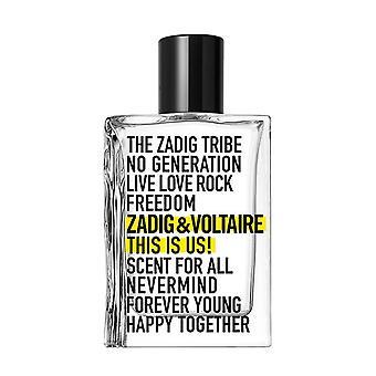 Unisex Perfume This is Us Zadig & Voltaire EDT (100 ml)
