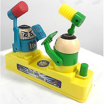foreldre / barn battle board leketøy, dobbel kamp spillespill (blå og grønn)