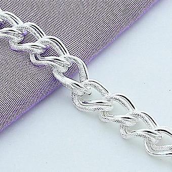 Gyönyörű divat 925 sterling ezüst charm karkötő gyönyörű ékszer lánc