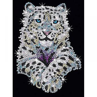 Sequin Art Sequin Snow Leopard Senior