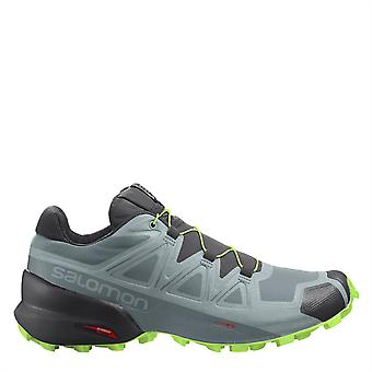 Salomon Mens Speedcross 5 Trooper Slate Green Trail Running Shoes Sport Training