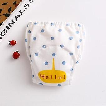 Baby Wash Waterproof Reusable Cotton Training Pant Infant Shorts Underwear
