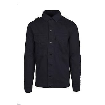 MA.STRUM Ma.strum Two Pocket Gd Overshirt Dark Navy