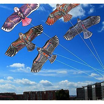 Eagle Kite med 30 Meter Line - Flying Bird Windsock Udendørs Legetøj