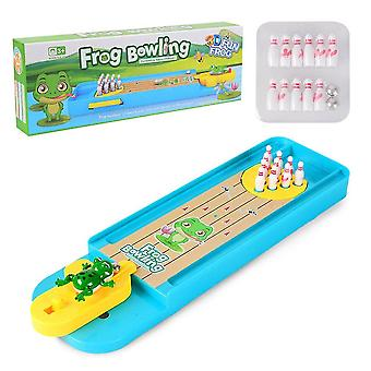 Children Puzzle Board Game- Interactive Mini Bowling Marble