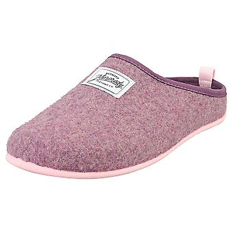Mercredy Slipper Lilac Pink Womens Slippers Shoes in Lilac