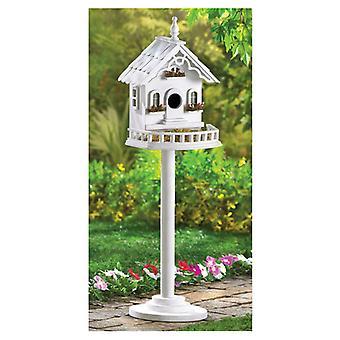 Songbird Valley Victorian Pedestal Bird House, Pack of 1