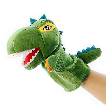 Puppets marionettes homemiyn plush dinosaur hand puppet t-rex stuffed toy open movable mouth for creative role play christmas gift