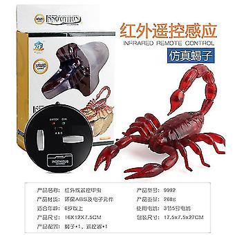 Robot insect grap speelgoed truc elektronische huisdier rc simulatie schorpioen kever afstandsbediening slim
